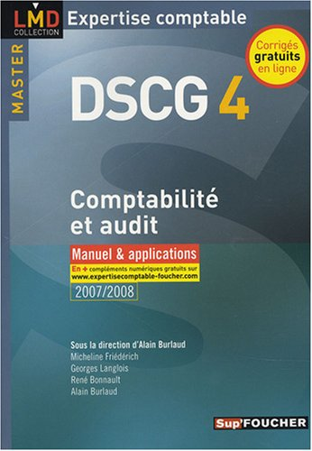 COMPTA ET AUDIT MANUEL ET APPLICATIONS  (Ancienne édition)