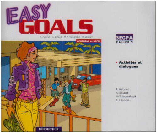 Easy Goals Palier 1 Segpa CD Audio