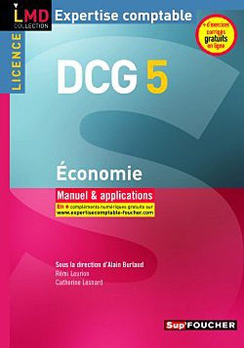 DCG 5 Economie Manuel et applications