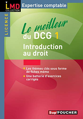 Le meilleur du DCG 1 : Introduction au droit