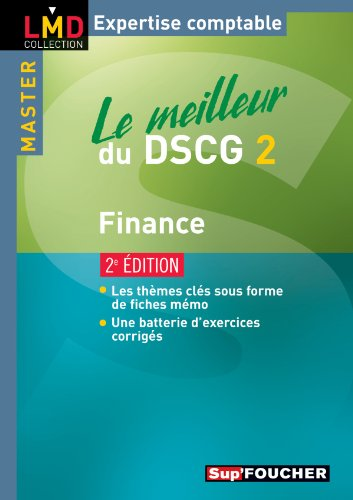 Le meilleur du DSCG 2 Finance