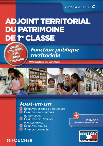 Adjoint territorial du patrimoine de 1re classe