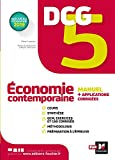 DCG 5 : économie contemporaine : manuel + applications | Leurion, Rémi