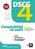 DSCG 4 : comptabilité et audit : manuel + applications + corrigés | Burlaud, Alain