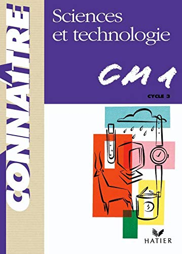 CM1 - sciences et technologie