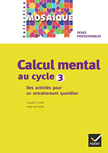 Calcul mental au cycle 3