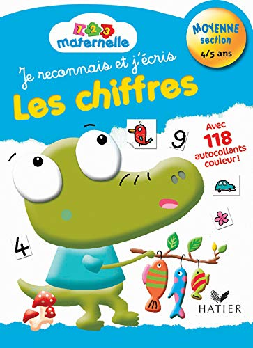 1-2-3 Maternelle - Chiffres Moyenne Section
