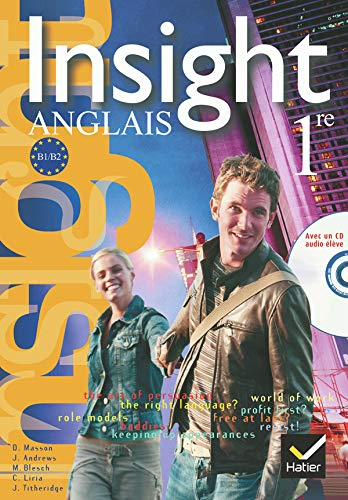 Insight Anglais 1e