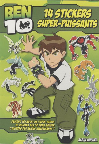 Ben 10 : 14 Stickers super-puissants