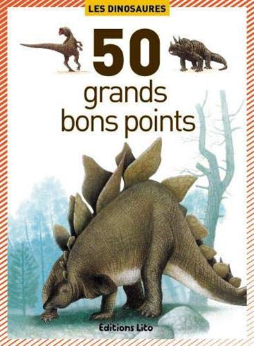 50 grands bons points - les dinosaures