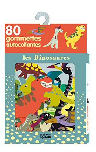 Ma Boite a Gommettes les Dinosaures