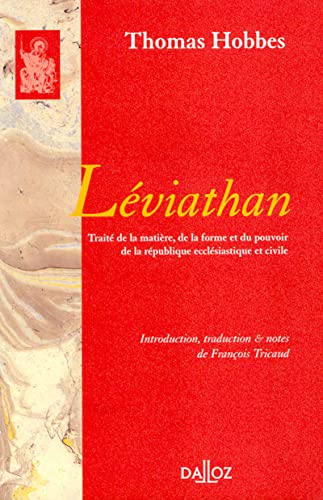 Léviathan (1re traduction française)