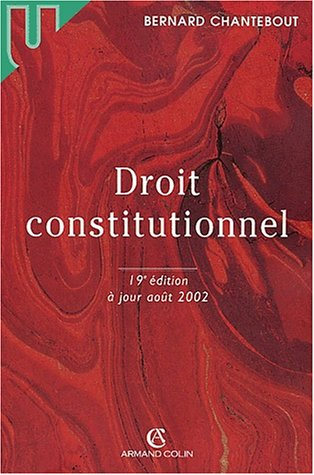 Droit constitutionnel, 19e édition