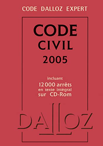 Code Dalloz Expert : Code civil 2005