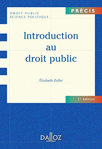 Introduction au droit public : Edition 2006