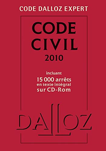 Code civil 2010 (1Cédérom)