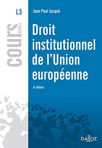 Droit institutionnel de l'union européenne 2010