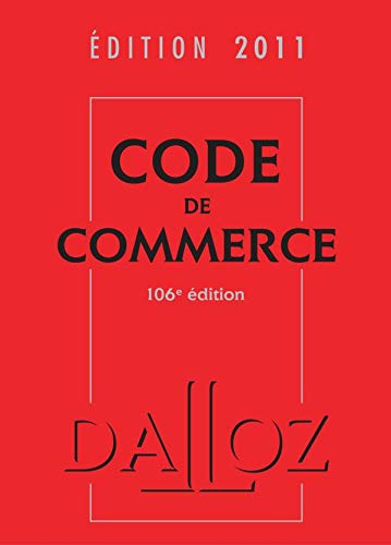Code de commerce 2011