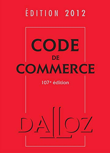 Code de commerce 2012