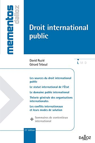 Droit international public 2012