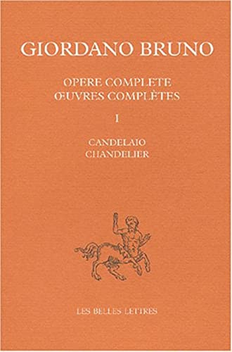 Oeuvres complètes, tome 1 : Le Chandelier