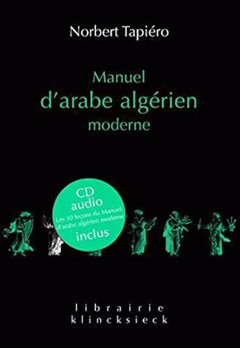 Manuel d'arabe algérien moderne (1CD audio)
