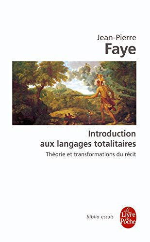 Introductions aux langages totalitaires