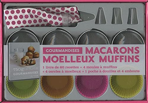 Macarons, moelleux, muffins