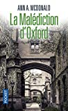 malédiction d'Oxford (La) | McDonald, Ann A.. Auteur