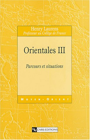 Orientales III : Parcours et situations