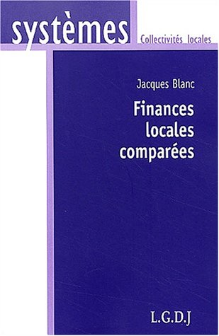 Finances locales comparees