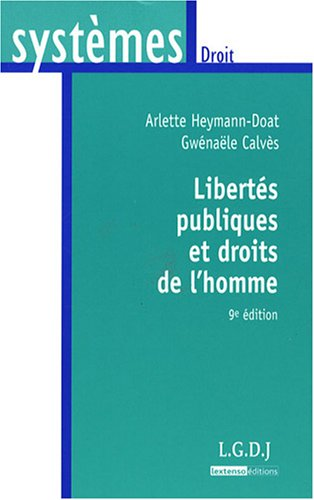 Libertés publiques et droits de l'homme