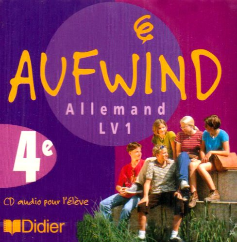 Aufwind allemand 4e, Lv 1 (CD audio)