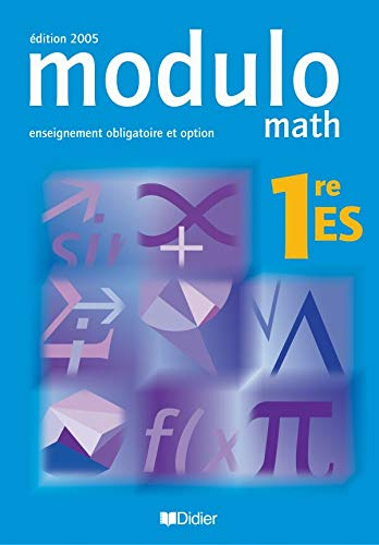 Modulo Math 1e ES : Enseignement obligatoire et option