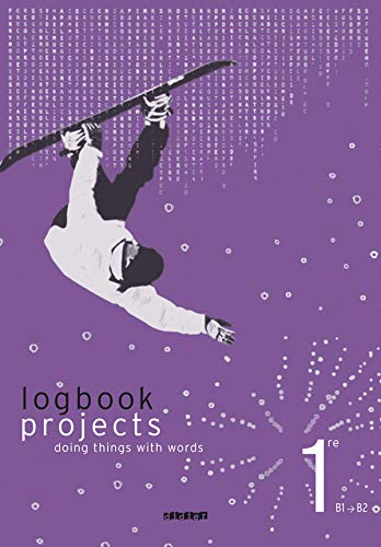 Anglais 1e logbook projects
