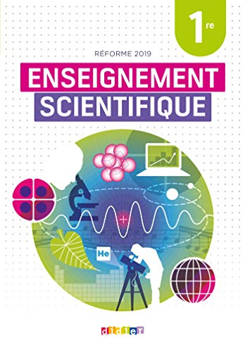 Enseignement scientifique 1re : réforme 2019 |