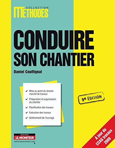 Conduire son chantier