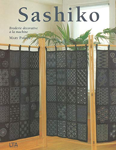 Sashiko : Broderie décorative à la machine