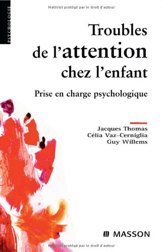 Troubles de l'attention chez l'enfant