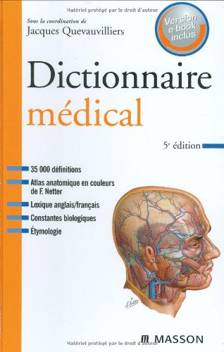 Dictionnaire médical : Version e-book inclus