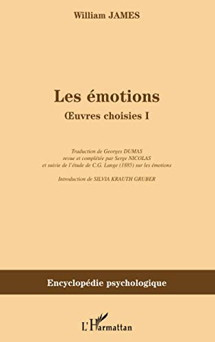 Les émotions - Oeuvres choisies 1