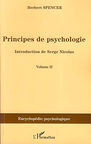 Principes de psychologie : Tome 2