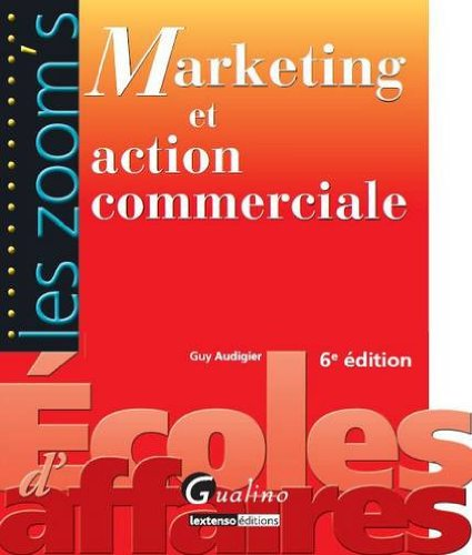 Marketing et action commerciale