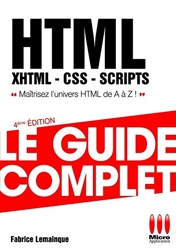HTML, XHTML, CSS, SCRIPTS