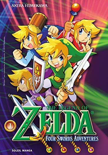 Zelda, Tome 8 : Four swords adventure 1