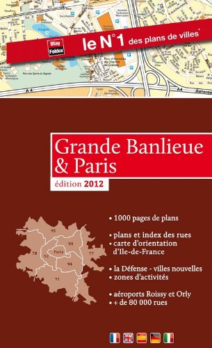 Atlas Paris & Grande Banlieue 2012