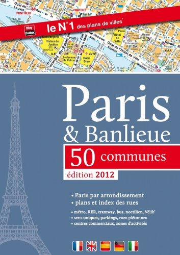Atlas Paris + banlieue 50 communues 2012