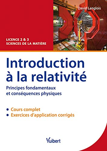 Introduction à la relativité