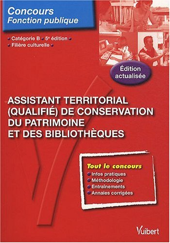N67 Assist. Territorial Qual. de Conservation du Patrimoine Bibliotheque, cat. B