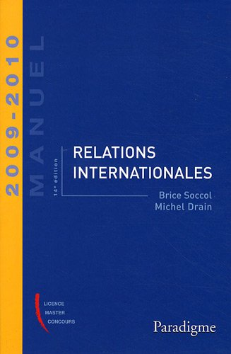 Relations internationales 2009-2010